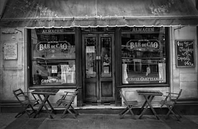 Bar De Cao Poster by Hans Wolfgang Muller Leg