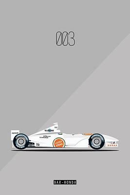 Bar Honda 003 F1 Poster Poster