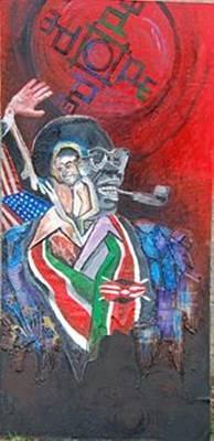 Barack 1 Poster by Mawetu Janda