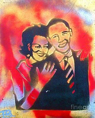 Barack Black Love Poster by Tony B Conscious