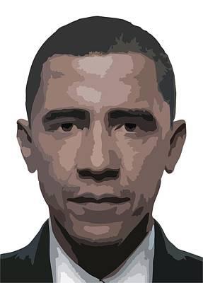 Barack Obama Poster by Tshepo Ralehoko