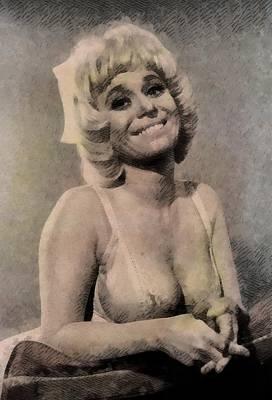 Barbara Windsor, Carry On Actress Poster