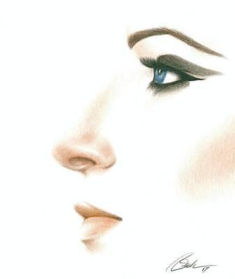 Barbra Poster by Bruce Lennon