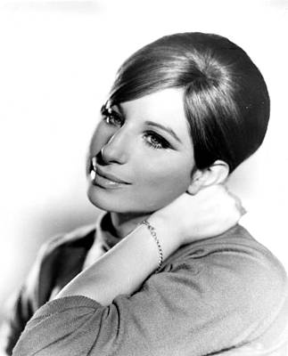 Barbra Streisand, Portrait From Funny Poster by Everett