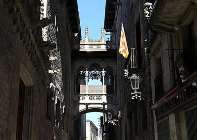 Poster featuring the photograph Barcelona 1 by Andrew Fare