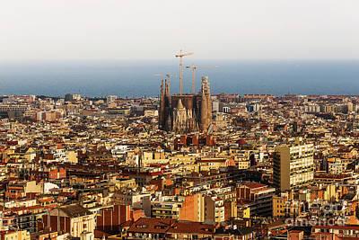 Barcelona Poster by Svetlana Sewell