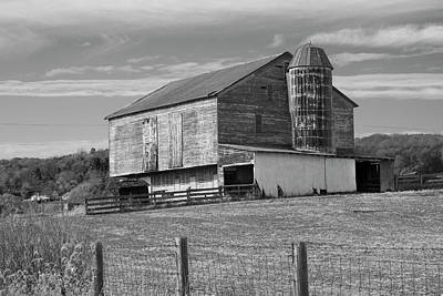 Poster featuring the photograph Barn 1 by Mike McGlothlen