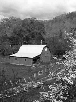 Poster featuring the photograph Barn 3 by Mike McGlothlen