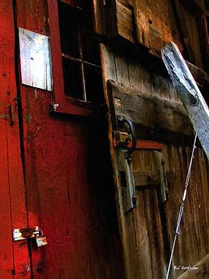 Barn Disassembled Poster