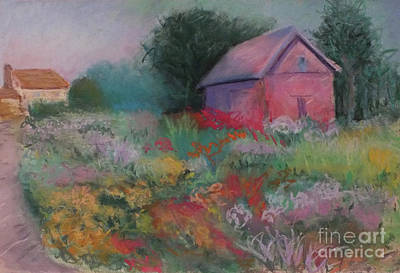 Colorful Barn In Summer Poster by Laura Sullivan