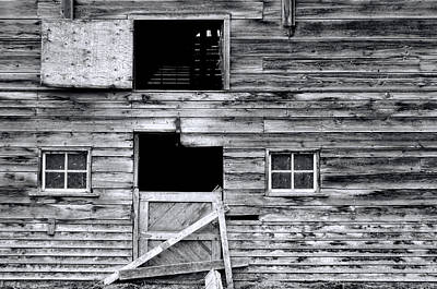Barn Texture Poster