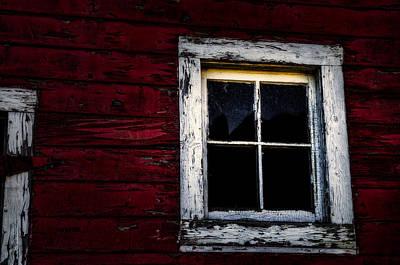 Barn Window Poster by Dan Walker