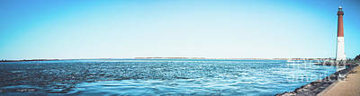 Barnegat Light Panorama Poster by Colleen Kammerer
