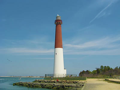 Barnegat Lighthouse Poster by Bill Cannon