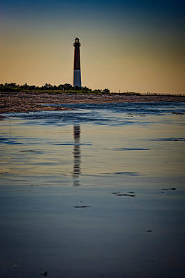 Barnegat Reflections Poster by Rick Berk