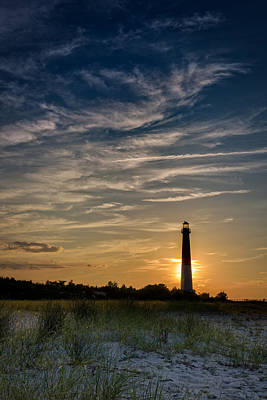 Barnegat Sunset Poster by Rick Berk