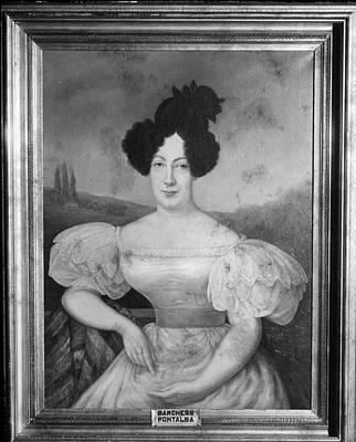 Baroness De Pontalba Poster
