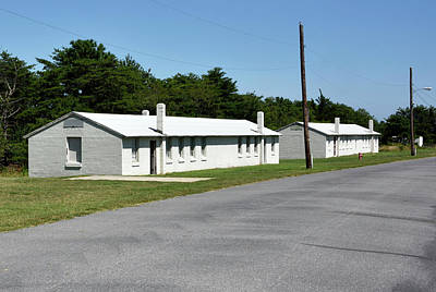 Barracks At Fort Miles - Cape Henlopen State Park Poster by Brendan Reals