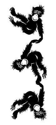 Barrel Full Of Monkeys T-shirt Poster