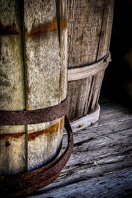 Barrels Poster by Karen Hanley Colbert