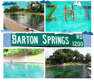 Barton Springs Poster