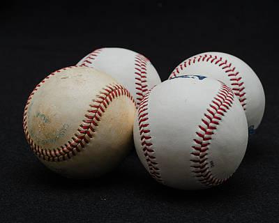 Baseball Quartet Poster