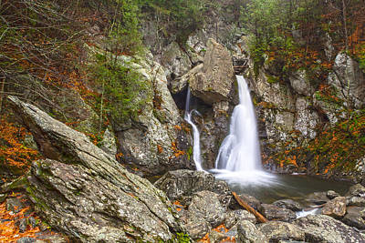 Bash Bish Falls In November 2 Poster by Angelo Marcialis