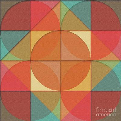 Basic Shapes Poster by Gaspar Avila
