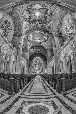 Basilica Of The National Shrine Of The Immaculate Conception IIb Poster by Susan Candelario