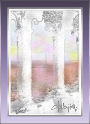 Sacre - Coeur Sunset Poster