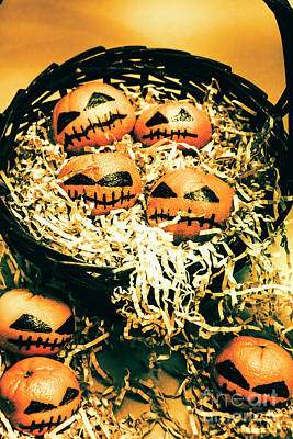 Basket Of Little Halloween Horrors Poster