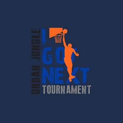 Basketball I Got Next Poster by Joe Hamilton