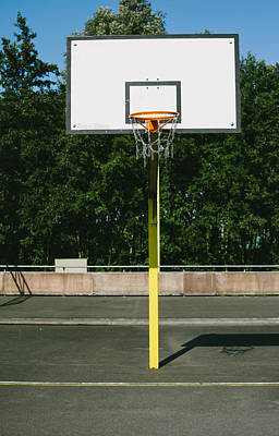 Basketball Poster by Pati Photography
