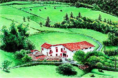 Basque Farm - Etxe Poster