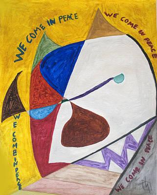 Basquiat's White Devil  Poster