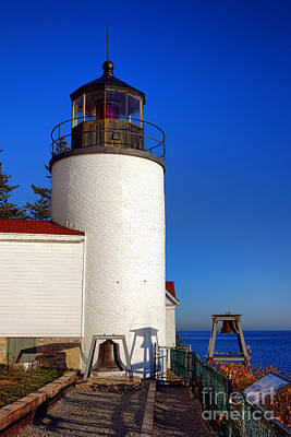 Bass Harbor Head Lighthouse Poster by Olivier Le Queinec