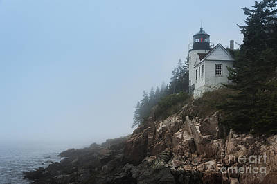 Bass Harbor Lighthouse Poster by John Greim
