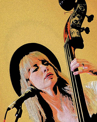 Bass Player Poster