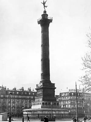 Bastille Monument In Paris Poster