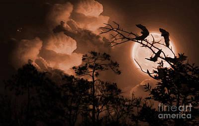 Bat In The Dark-a Poster