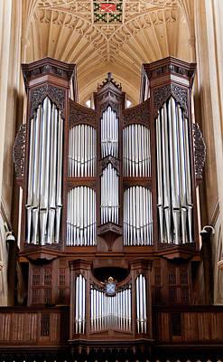 Bath Abbey Organ Poster