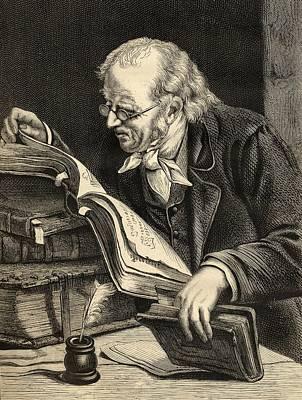 Bathold George Niebuhr, 1776-1831 Poster