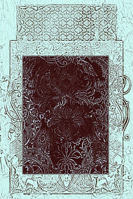 Batik 11 Poster by Priscilla Huber