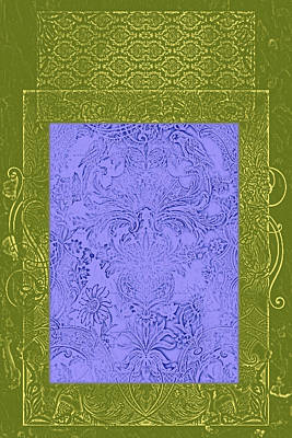 Batik 2 Poster by Priscilla Huber