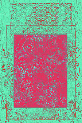 Batik 3 Poster by Priscilla Huber