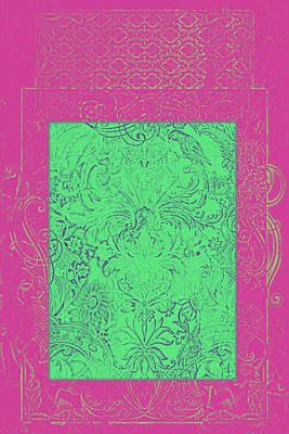 Batik 8 Poster by Priscilla Huber