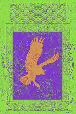 Batik Birds 4 Poster by Priscilla Huber