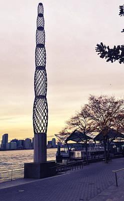 Battery Park City, New York Poster by Sandy Taylor