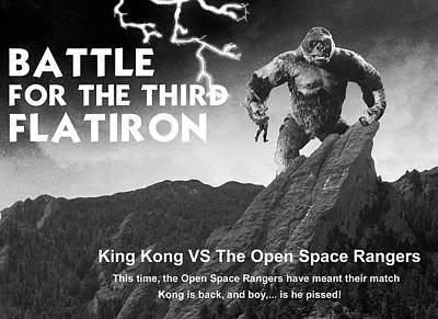 Battle For The Third Flatiron Poster