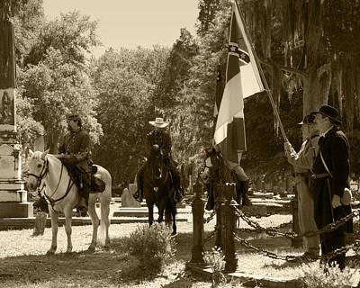 Battle Of Selma - Sepia Poster